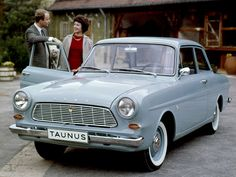 Ford Taunus 12M Tata & Nononcle