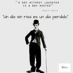 """""""Un día sin risa es un día perdido"""" ¡Disfruta del día y comparte una sonrisa!  """"A day without laughter is a day wasted"""" Enjoy your day and share a laugh!"""