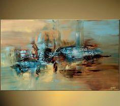 Nadia cascini passeggiare a venezia paintings 1 pinterest - Tuto peinture abstraite contemporaine ...