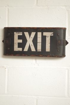THE WAY OUT.