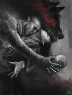 venusolasfan:  Dread Wolf by Welehort