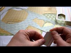 Tag Video Tutorial.  Learn how to make a cute tag.  Template for tag is available on my website at:  http://kimberliekohler.com/2906/tag-video-tutorial/ #scrapbook #diy #tag #video