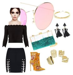 """""""Party 🎉"""" by umniyastyle on Polyvore featuring Lana Jewelry and Alexander McQueen"""