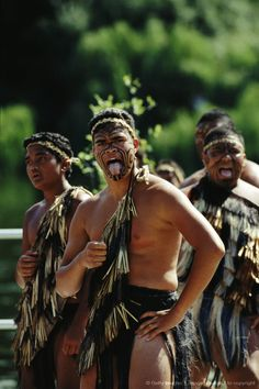 Maoris in New Zealand