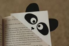 Panda Corner Bookmark by myheartsdesign on Etsy, $3.00
