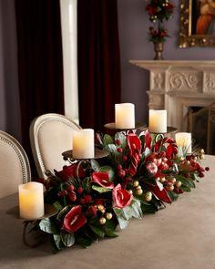 Creative Christmas Holiday Candles