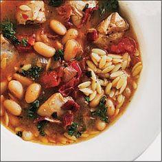 Chicken and White Bean Soup   MyRecipes.com