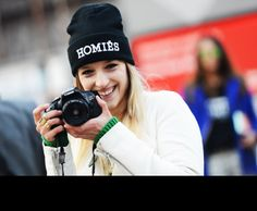Homies/Hermes Condom Hat. Tommy Ton Shoots the Street-Style Scene at the Fall 2013 Shows