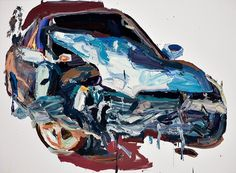 Ben Quilty Car Painting, Australian Artists, Design Inspiration, Metal, Thesis, Case Study, Image, Cars, Live