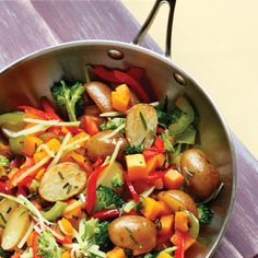 Vegetarian Hash. To choose an acorn squash, look for an unblemished fruit that's heavy for its size. If possible, buy one or two more than you'll need for this recipe: The winter squash is truly versatile and can be baked in the oven, sauteed, steamed, mashed of pureed for a seasonal soup.