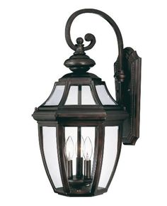 Savoy House Three Light Outdoor Wall Sconce / Lantern from the Endorado Co Black Outdoor Lighting Wall Sconces Outdoor Wall Sconces Black Outdoor Wall Lights, Outdoor Wall Lantern, Outdoor Wall Sconce, Outdoor Walls, Outdoor Wall Lighting, Wall Sconce Lighting, Wall Sconces, House Lighting, Lighting Ideas