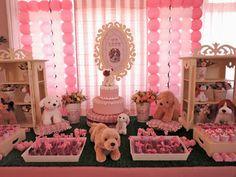 Farolita Decoração de Festas Infantis: cachorrinhos