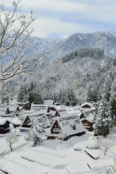 Winter - Gokayama-Ainokura, Japan