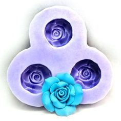 Longzang F0070 Flower Fondant Silicone Sugar Craft Mold, Mini, Pink *** Want additional info? Click on the image.