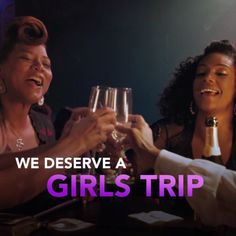 Discover your wild side. #GirlsTrip – in theaters July 21.