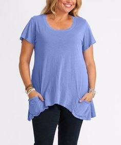 Another great find on #zulily! Peri Twin Peaks Top - Plus by Fresh Produce #zulilyfinds