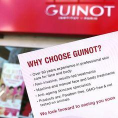 "d40481ffd7 The Guinot Salon on Instagram: ""Go on! You deserve a treat! Call us to  book: ☎ 02089461661 . . . #guinot #gmofree #nottestedonanimals #crueltyfree  ..."