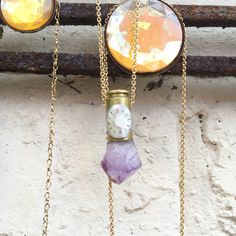 Amethyst Astral Bullet - Crystal Pendant Necklace - Pendulum Divination by LokaYogaCollective on Etsy https://www.etsy.com/uk/listing/385593596/amethyst-astral-bullet-crystal-pendant
