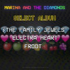 Marina and the Diamonds | Albums Gif