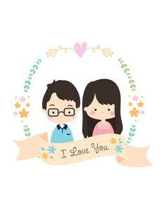 Retrato de encargo, ilustración personalizada, retrato de pareja, pareja Ilustración, regalo, regalo aniversario, regalo de cumpleaños