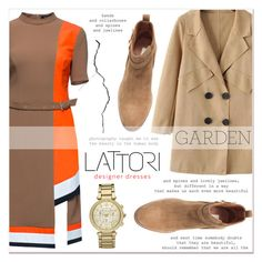 """# I/13 Lattori"" by lucky-1990 ❤ liked on Polyvore featuring mode, Lattori, H&M, Michael Kors et lattori"