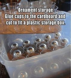So Clever! 10 Smart Tips for Storing  Organizing Christmas Decorations