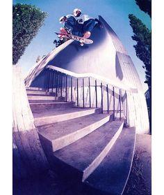 Classics: Dec. 1998 Reem aka @kareemcampbelldotcom kickflip like no other. LA CA.  @atibaphoto. Vol. 17 No. 12. Repost: @deadhippie. #menace #allcity #citystars #twsclassics #alphanumeric #axionfootwear by transworldskate