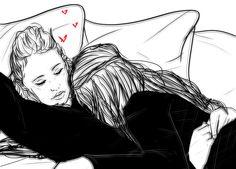 heda pillow-__- by futagosa on tumblr #the100 #clexa