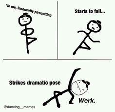 Dance problem memes