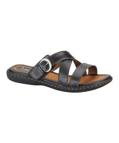 Look at this Black Tacory Sandal on #zulily today!