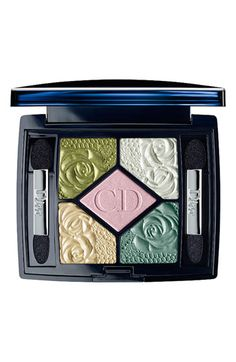 This Dior '5 Couleurs Garden Party Garden Pastels' eyeshadow palette has more of the fresh greens we're craving for spring!