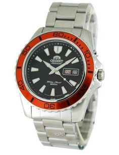 We bring you a wide range of watches at the best possible prices. Orient Mako Automatic Diver Mens Watch has Stainless Steel Case, Stainless Steel Bracelet, Self Winding Movement, Caliber: 21 Jewels, Black Dial Stainless Steel Bracelet, Stainless Steel Case, Orient Watch, Three Fold, 3 O Clock, Mechanical Watch, Casio Watch, Bracelet Watch, Watches For Men