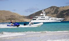Charter Yacht Te Manu and experience the luxury of a Novurania Equator EQ 530 LP and a 430 DL as your tenders http://www.yachttemanu.com/