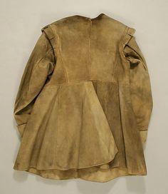 Coat, 1630-40, leather (British) Metropolitan Museum
