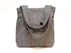 Ready to ship /Amy  Tweed Herringbone Wool and Alpaca