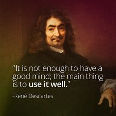 Philosopher Rene Descartes