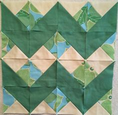 Modern Quilt Relish: Repurpose leftover fabric into easy chevrons