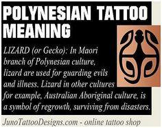 #TattooSymbolism #Tattoos LIZARD Gecko polynesian symbol meaning - juno, click for more info.. Polynesian Tattoo Meanings, Polynesian Tattoos Women, Samoan Tribal Tattoos, Polynesian Tattoo Designs, Filipino Tattoos, Maori Tattoo Designs, Paisley Tattoos, Polynesian Tribal, Maori Tattoos