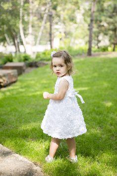 What a cutie!! Photo by Megan. #minneapolisweddingphotographers #weddingphotographersmn #flowergirl #kidsinweddings