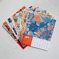 2013 Places I Have Never Been Desk Calendar by JhillDesign on Etsy