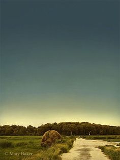 Haystack ©  digital image by Mary Baker