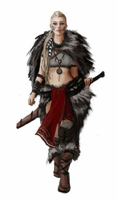 Ideas for fantasy concept art female dungeons and dragons Fantasy Warrior, Fantasy Rpg, Fantasy Artwork, Female Viking Warrior, Warrior Girl, Fantasy Adventurer, Warrior Outfit, Warrior Queen, Warrior Princess