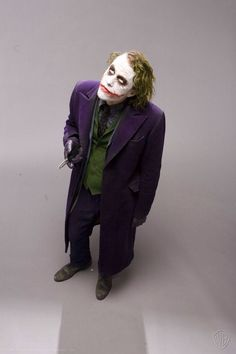 El Joker es un personaje de la película The Dark Knight, interpretado por Heath Ledger.