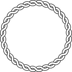rope border circle ❤ liked on Polyvore featuring frames, circles, fillers, backgrounds, borders, effects, doodles, text, outlines and embellishments