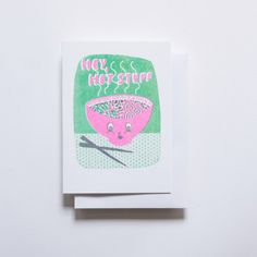 New Risograph Cards and Prints from Yellow Owl Workshop, on Design*Sponge