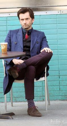 PHOTOS: David Tennant On The Set Of A.K.A. Jessica Jones | DAVID TENNANT NEWS FROM WWW.DAVID-TENNANT.COM