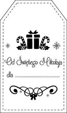Hello Scrap: Świąteczne digi stemple do pobrania Diy Christmas Gifts, Christmas Cards, Ladybug 1st Birthdays, Diy And Crafts, Crafts For Kids, Diy Advent Calendar, Silhouette Vinyl, Printable Paper, Xmas Decorations