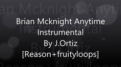 Brian Mcknight - anytime instrumental