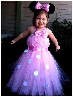 Minnie Mouse tutu costume dress!!!  www.BlissyCouture.net