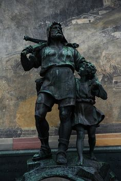 Wilhelm Tell, Altdorf, Switzerland - land of my ancestors